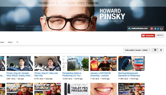 Howard Pinsky Ice Flow Studios tutorials channel