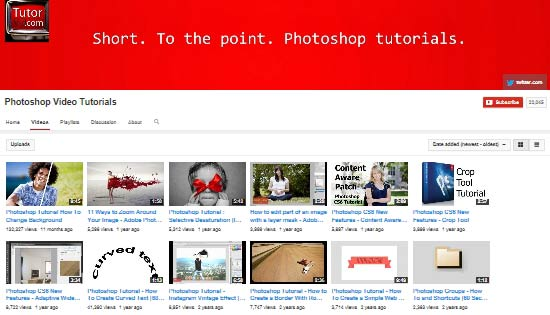 TutorVid.com Photoshop Tutorials Channel